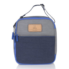 Twelve Little Courage Insulated Lunch Bag - Grey/Navy - CanaBee Baby