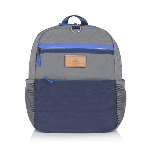 Twelve Little Big Kid Courage Backpack - Grey/Navy - CanaBee Baby