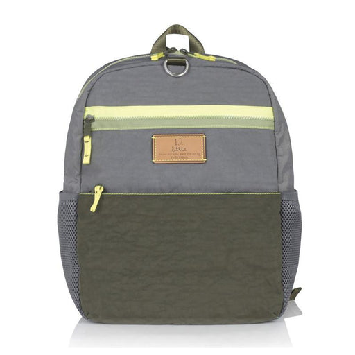 Twelve Little Big Kid Courage Backpack - Grey/Olive - CanaBee Baby