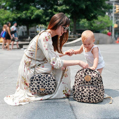 Twelve Little Little Companion Backpack - Leopard Print - CanaBee Baby