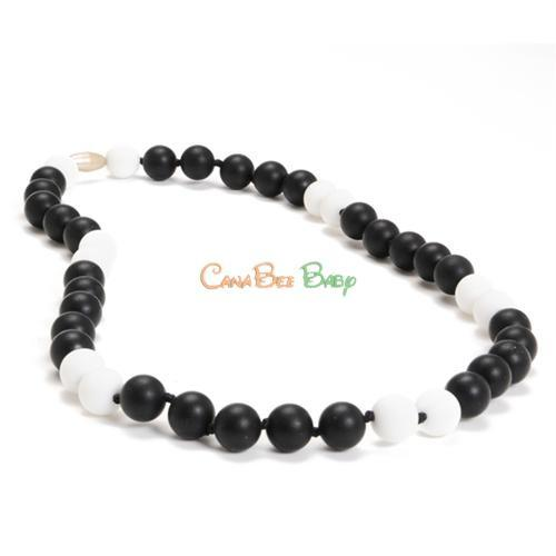Chewbeads Waverly Necklace Black - CanaBee Baby