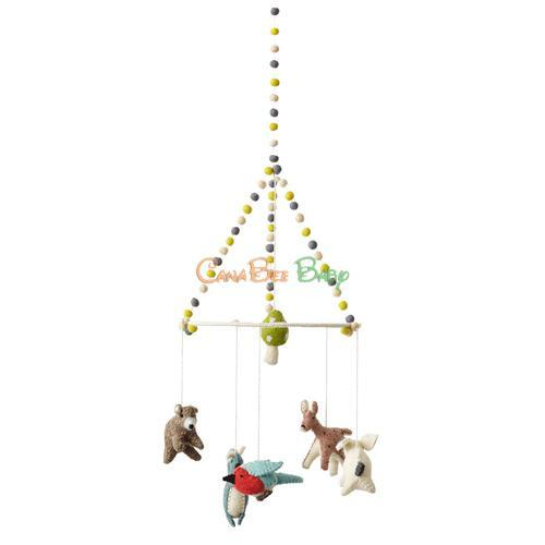 Petit Pehr Mobile - Woodland Creatures - CanaBee Baby