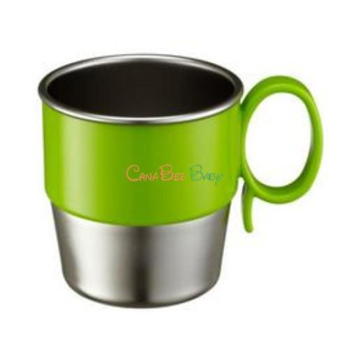 Innobaby Din Din Smart Stainless Cup - Green - CanaBee Baby