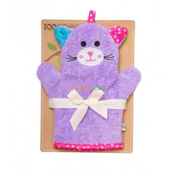 Zoocchini Bath Mitt - Kallie the Kitten