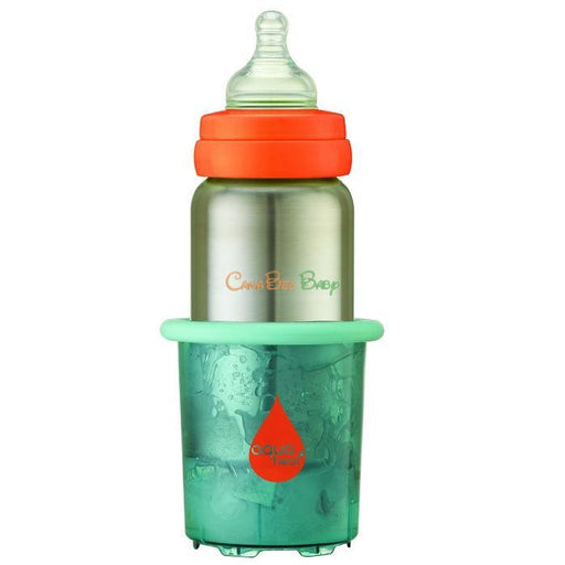 Innobaby Aquaheat Stainless Bottle& Warmer with 2 Heat Packs - CanaBee Baby
