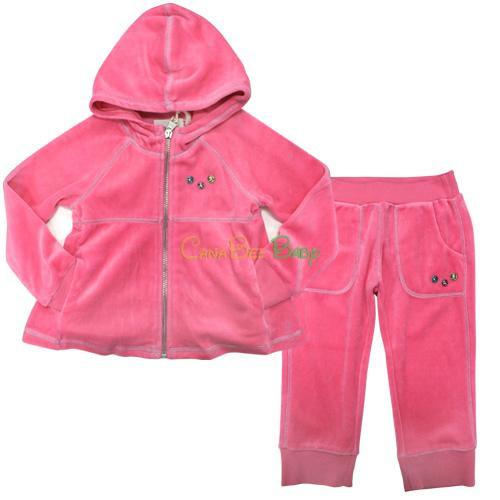 Diesel Sixami Sweaters & Periko Pants Pink - CanaBee Baby