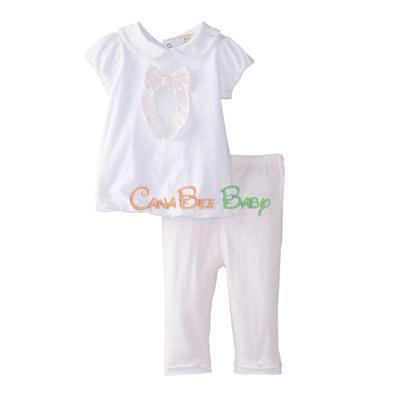 Absorba 6224 Pink 2pc Pant Set