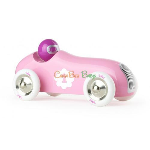 Vilac Pink Old Sport Car - CanaBee Baby