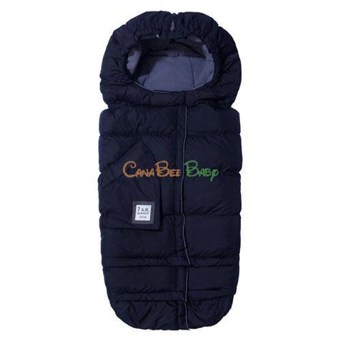 7 AM ENFANT Blanket 212 Evolution - Navy - CanaBee Baby