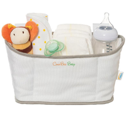 Halo Bassinest Storage Caddy White/Grey - CanaBee Baby
