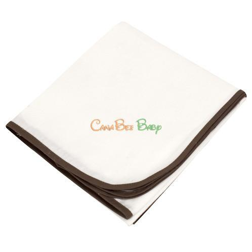 Kushies Organic Receiving Blanket - CanaBee Baby