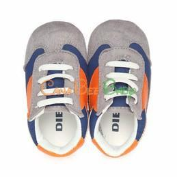Diesel Crib Baby Enjoy Sneaker - Orange/Blue - CanaBee Baby