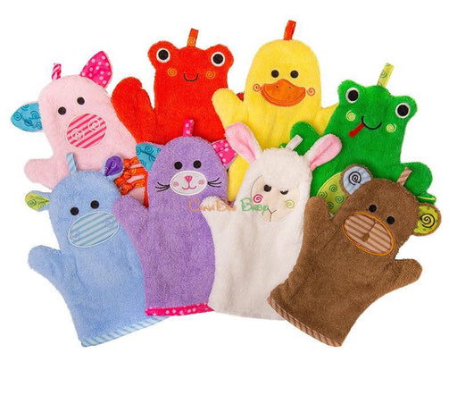 fc50a0e743e Zoocchini Bath Mitt - Kallie the Kitten