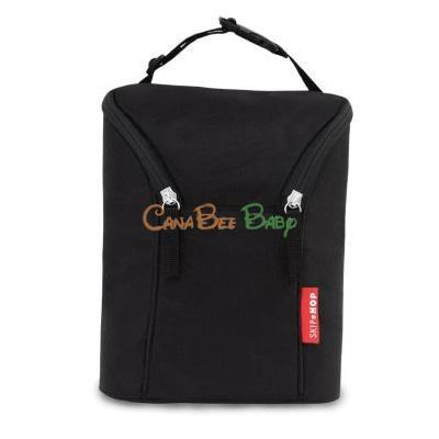 Skip Hop Grab & Go Double Bottle Bag - Black - CanaBee Baby