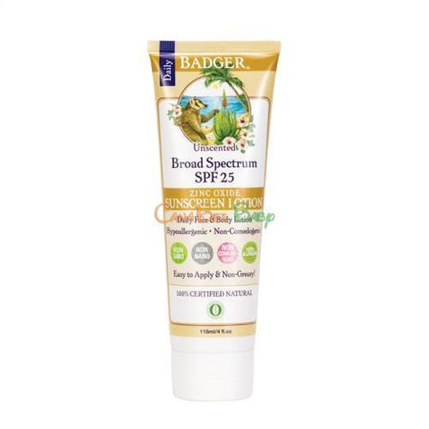Badger SPF25 Sunsreen Lotion - CanaBee Baby