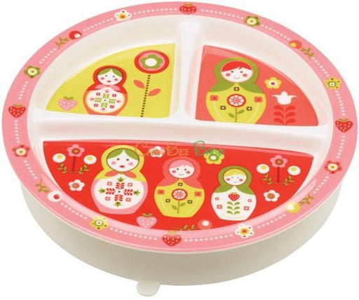 Sugarbooger Divided Suction Plate-Matryoshka Doll - CanaBee Baby