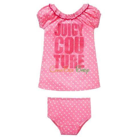 Juicy Couture Girls 2PC Dress Set - CanaBee Baby
