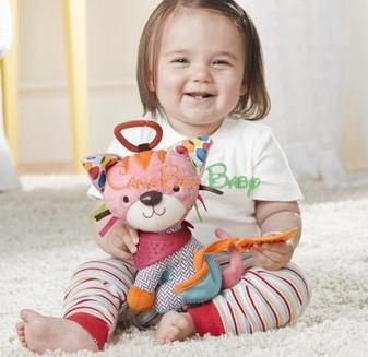 Skip Hop Bandana Buddies Activity Toy in Fox - CanaBee Baby
