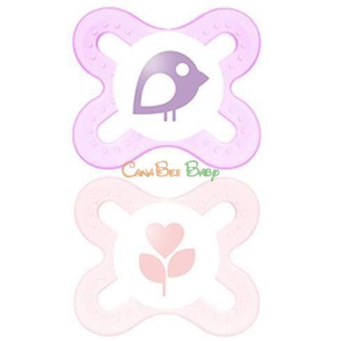 MAM Start Pacifiers Girl 0-2m - CanaBee Baby
