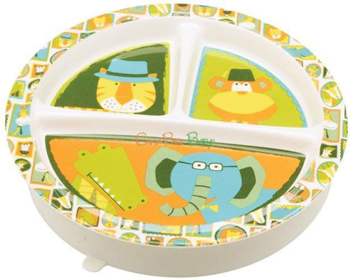 Sugarbooger Divided Suction Plate-It's a Jungle - CanaBee Baby