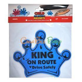 Child On Route Magnets - CanaBee Baby