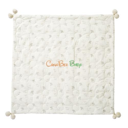 Petit Pehr Quilted Blanket - Little Lamb - CanaBee Baby