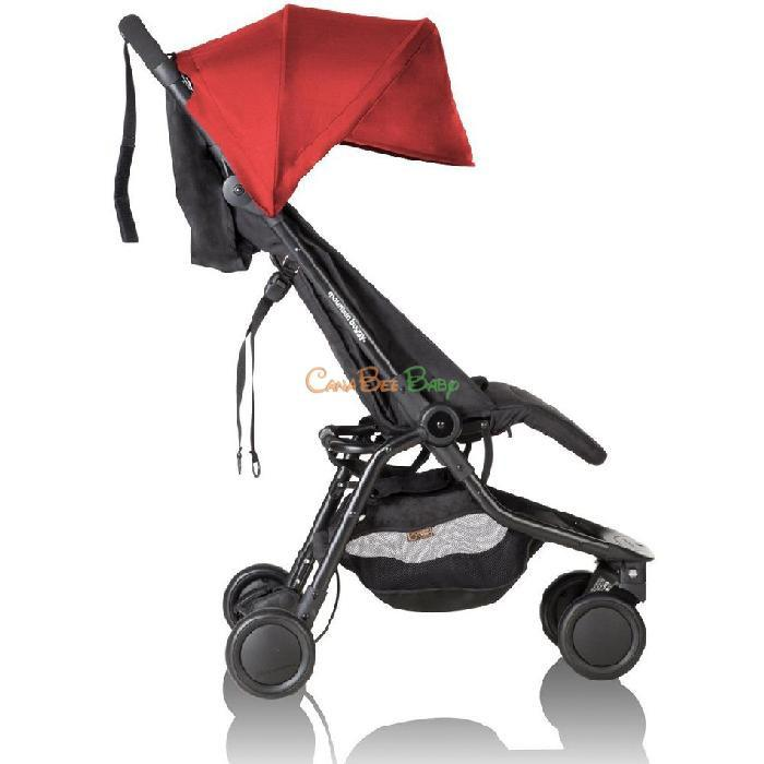Mountain Buggy Nano Travel Stroller Ruby - CanaBee Baby