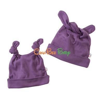Babysoy Double Knot Hat Chocolate - CanaBee Baby