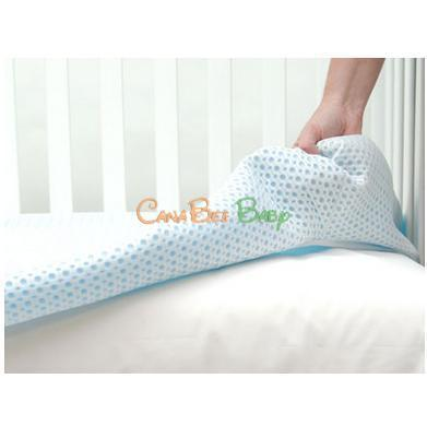 Lullaby Earth Breeze Cover White - CanaBee Baby