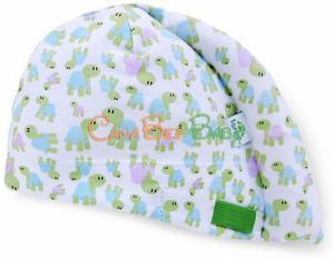 Tortle Turtle Adjustable Head Repositioning Beanie - CanaBee Baby