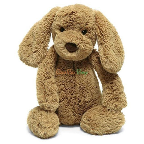 Jellycat Bashful Toffee Puppy Size M - CanaBee Baby