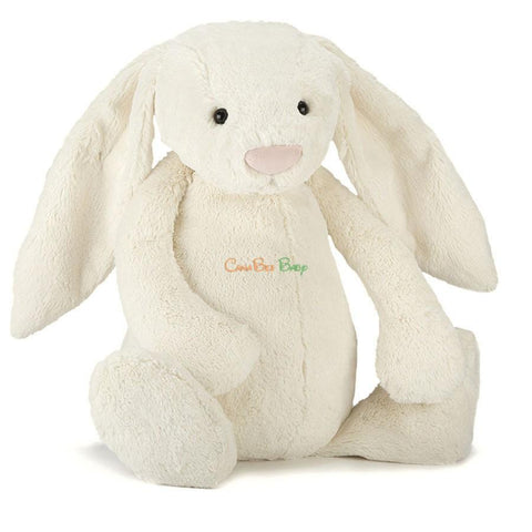 Jellycat Bashful Cream Bunny Size M