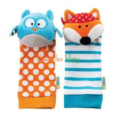 Bbluv - Foot Finders - Owl & Fox - CanaBee Baby