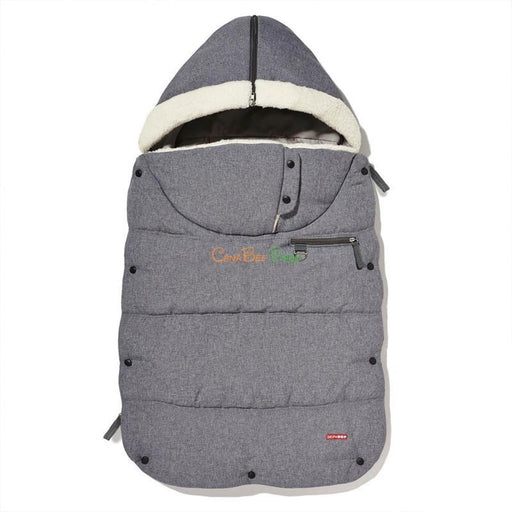 Skip Hop STROLL & GO Three Season Footmuff - Heather Grey - CanaBee Baby