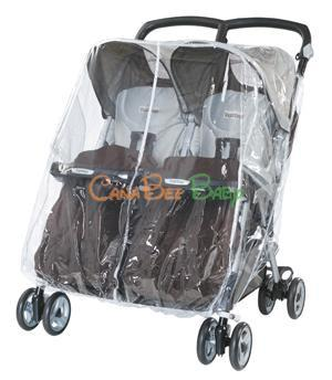 Peg Perego Rain Cover for Aria Twin - CanaBee Baby