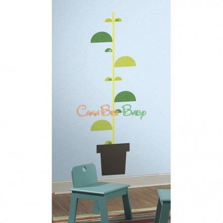 Roommates One Decor BookStalk Peel & Stick Giant Wall Decals - CanaBee Baby