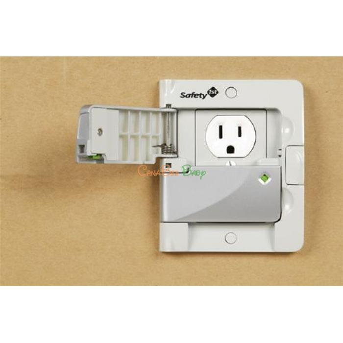 Safety 1st Swing Shut Outlet Cover - CanaBee Baby