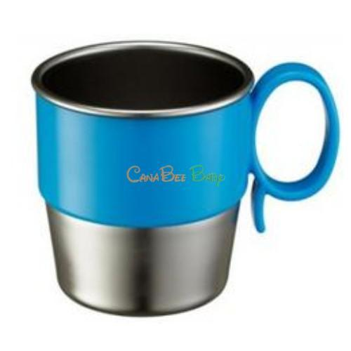 Innobaby Din Din Smart Stainless Cup - Blue - CanaBee Baby