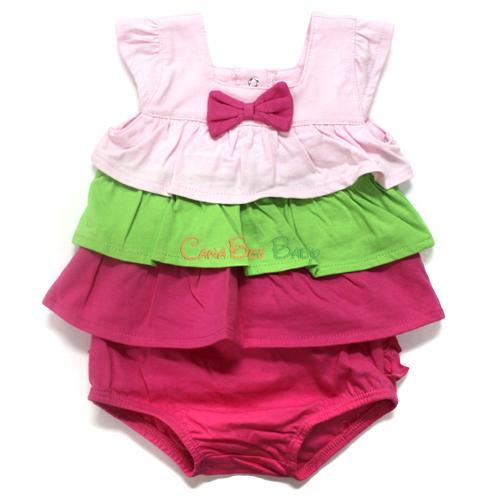 Absorba 5187 Pink Short Set - CanaBee Baby