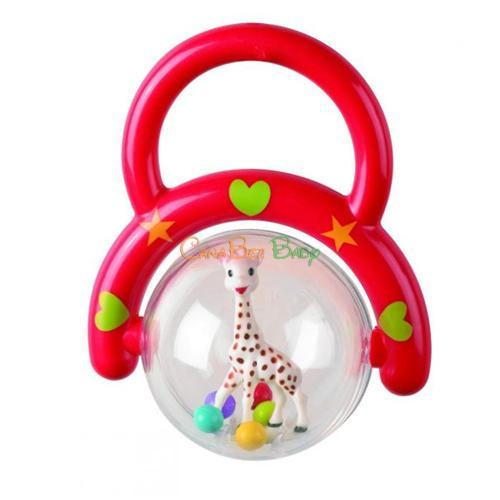 Vulli Sophie Handle Rattle Assorted - CanaBee Baby