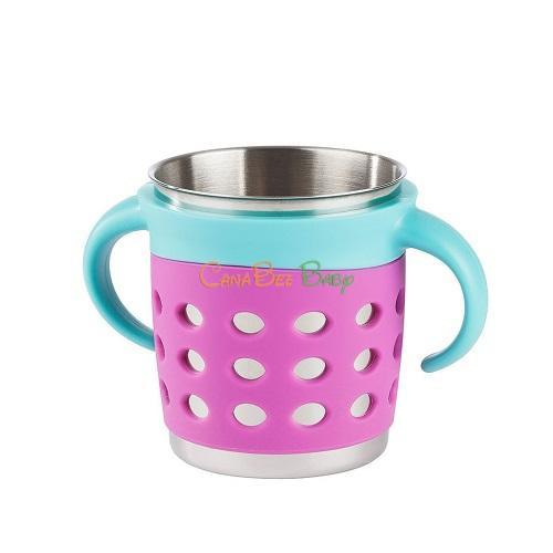 Make My Day Adjustable Sippy Cup - Purple/Blue - CanaBee Baby