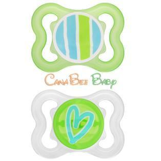 MAM Mini Air Pacifiers 0-6m - CanaBee Baby