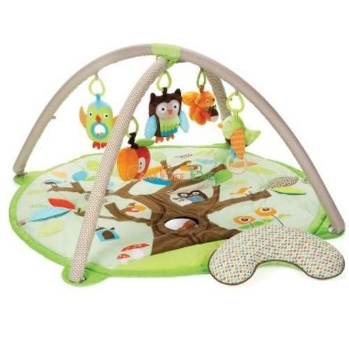 Skip Hop Treetop Friend Activity Toy Gym - Brown/Green - CanaBee Baby