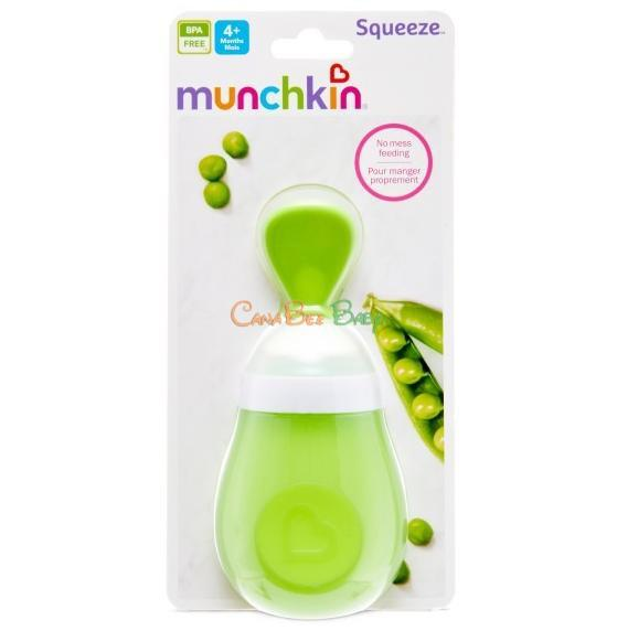 Munchkin Squeeze Spoon (Blue/Green/Pink) - CanaBee Baby