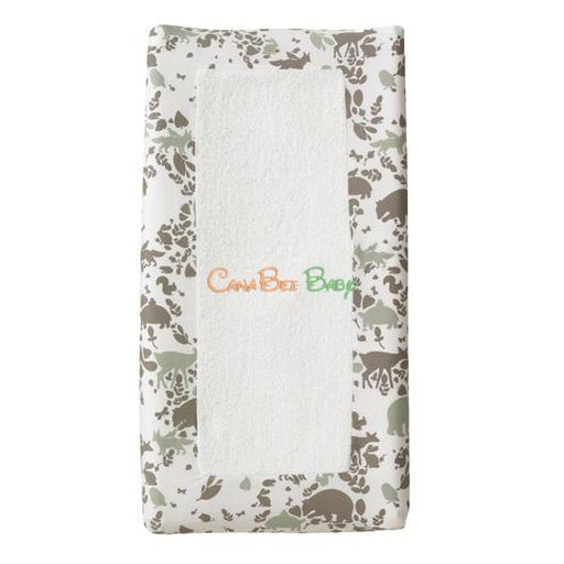 Dwell Studio Changing Pad Cover Woodland Tumble - CanaBee Baby