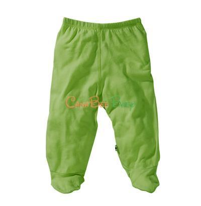 Babysoy O Soy Footie Pants Grass - CanaBee Baby
