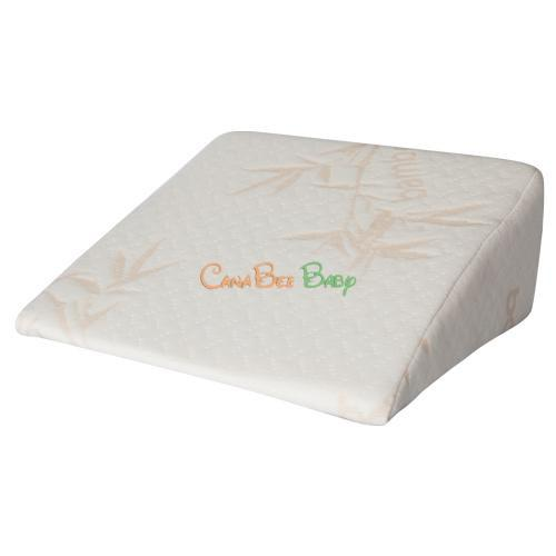 Baby Works Pregnancy Wedge with Bamboo Cover - CanaBee Baby