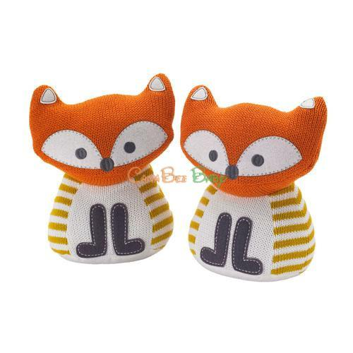 Lolli Living Bookends - Fox - CanaBee Baby