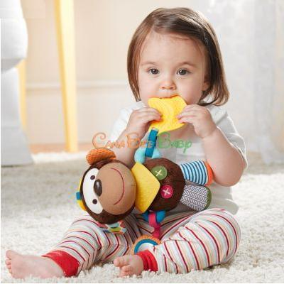 Skip Hop Bandana Buddies Milo the Monkey - CanaBee Baby
