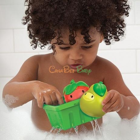 Munchkin Squirt N Strain Fruit Basket - CanaBee Baby